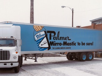 Palmer delivery truck